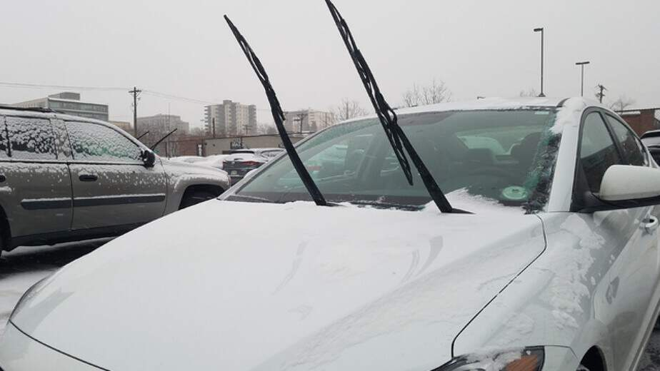 Windshield Wipers UP