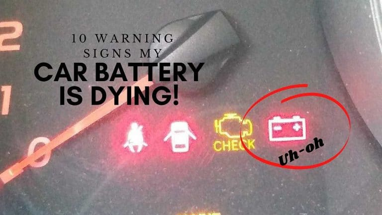 10 Warning Signs My Car Battery is Dying