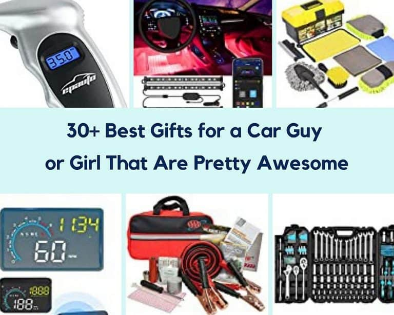 30+Best Gifts For A Car Guy or Girl That Are Pretty Awesome