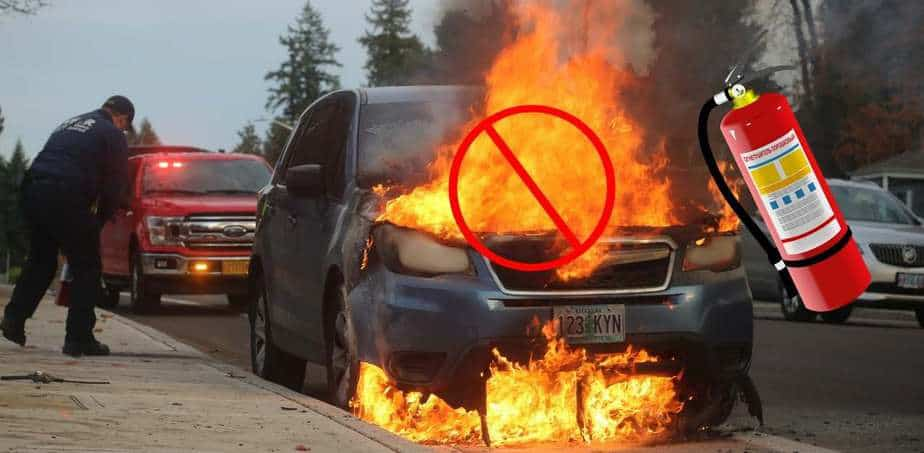 Best Car Kit with Fire Extinguisher