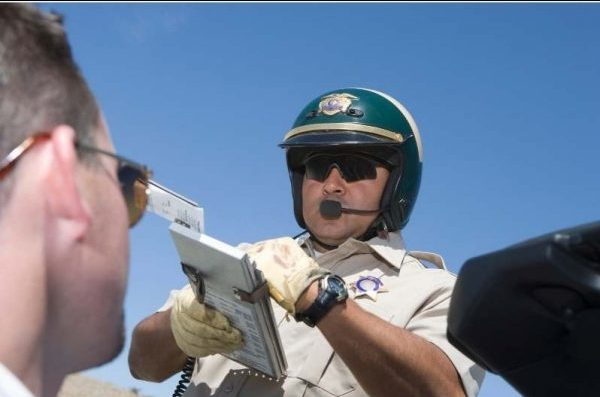 Police Giving Ticket