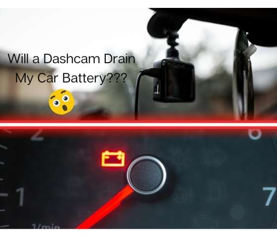 Will a dashcam drain my car battery? 3 things you need to know