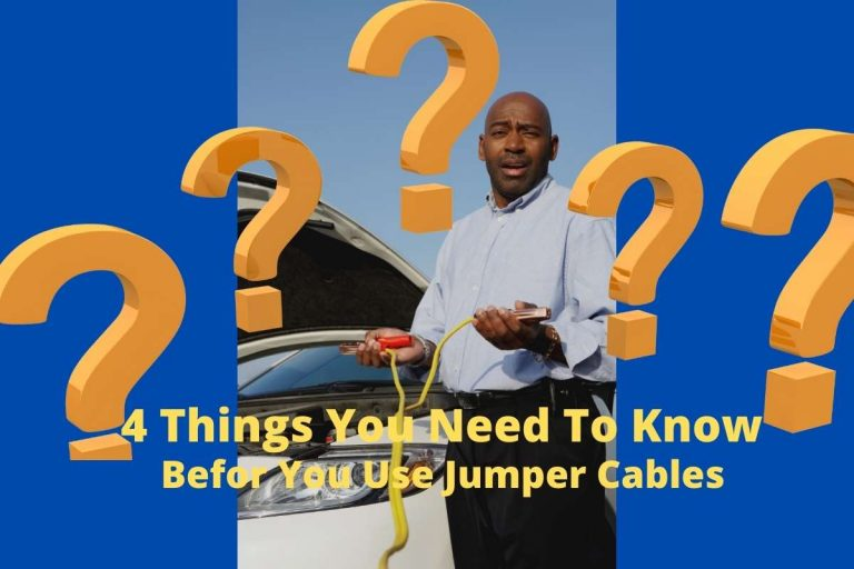 4 Things You Need to Know Before You Use Jumper Cables